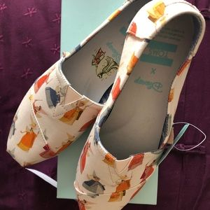 Toms Shoes - Toms Limited Edition Sleeping Beauty Flats